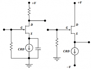 JFET Technical Schematics