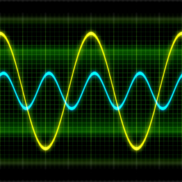 Oscilloscope Waveform